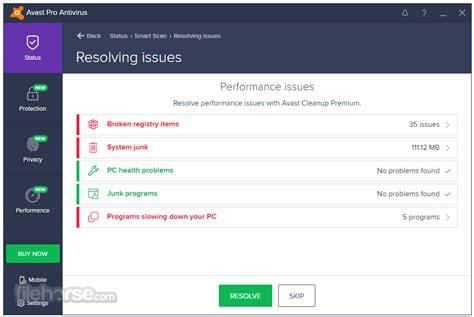 Antivirus Avast Pro avast pro antivirus 17 4 3482 0 for windows