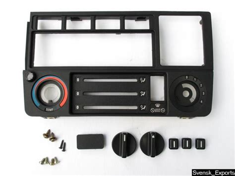 sell bmw    nice dash radio console heater control panel trim frame   motorcycle