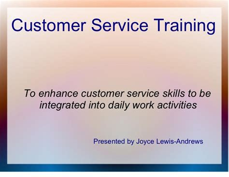 service certification customer service general