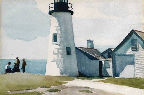 Painting Houses by Road Tripping Through Edward Hopper S Maine Wsj