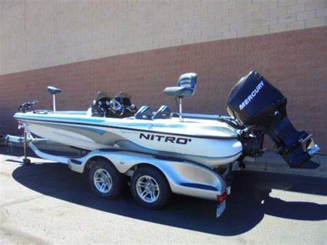 used nitro bass boats for sale in michigan 2006 used nitro 911 cdc bass boat for sale 24 999