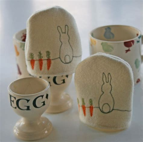 Egg Cosies By Snapdragon Garden personalised bunny egg cosy by snapdragon