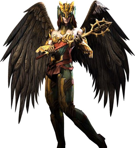 injustice gods among us hawkgirl regime injustice gau ios hawkgirl render by wyruzzah
