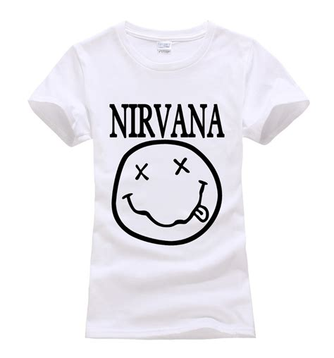 11gfn T Shirt Nirvana Hitam pink brand shirts promotion shop for promotional pink