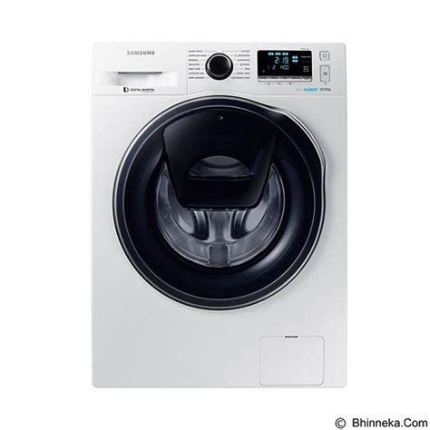Mesin Cuci Samsung Ww65j3283lw jual samsung mesin cuci front load ww10k6410qw murah