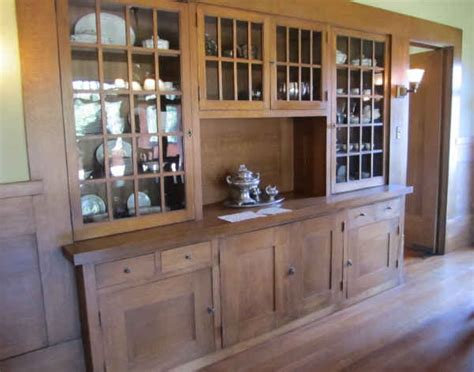 Dining Room Hutch San Diego Marston House Builit In China Hutch