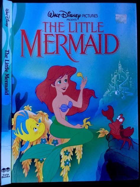mermaid picture books disney s the mermaid series books 1992