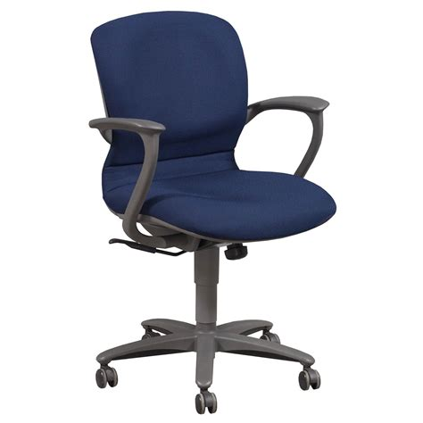 Used Desk Chairs - haworth improv desk used conference chair blue national