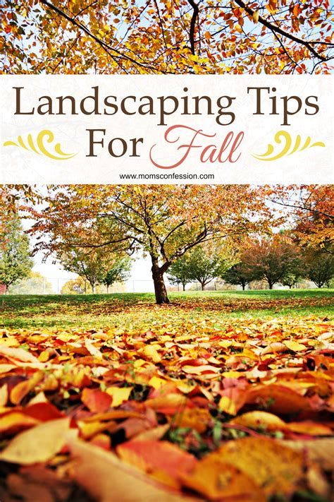 fall landscaping tips 28 safety tips for fall landscaping fall