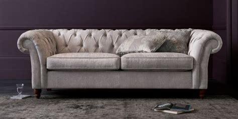 buy velvet sofa buy gosford buttoned large sofa 3 seats antique velvet