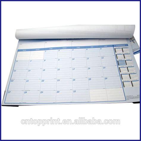 desain kalender meja kreatif kreatif desain meja pad kalender untuk kantor catatan