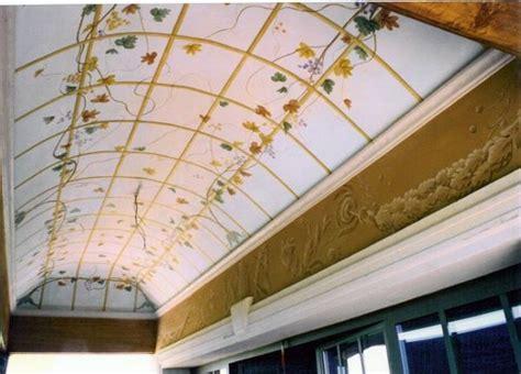 soffitto a volta foto decorazione pittorica soffitto a volta in esterno di