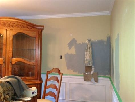 help decide paint color sea or puritan gray in my dining rm