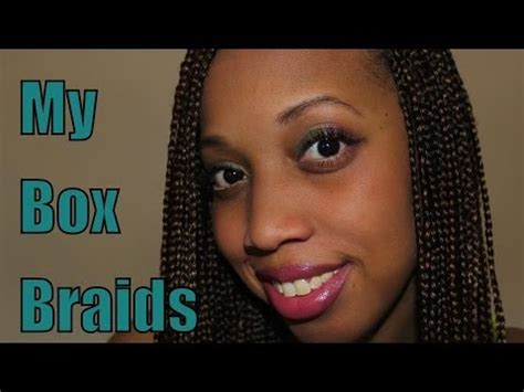 how many bags of hair for box braids my box braids youtube