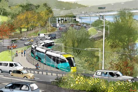 Drum Light Sketch Of Hobart Based Light Rail Or Tram Project Called