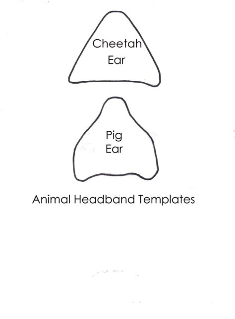 pig ear clipart clipartxtras
