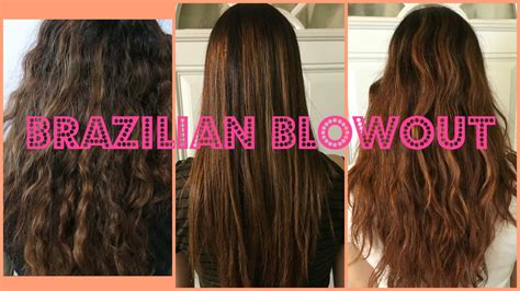 brazilian blowout before and after my brazilian blowout experience before after youtube