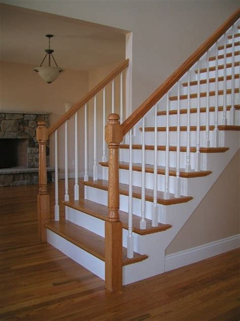 Stair Banister Repair by Nyc Wood Stairs We Design Build Install New Or Repair