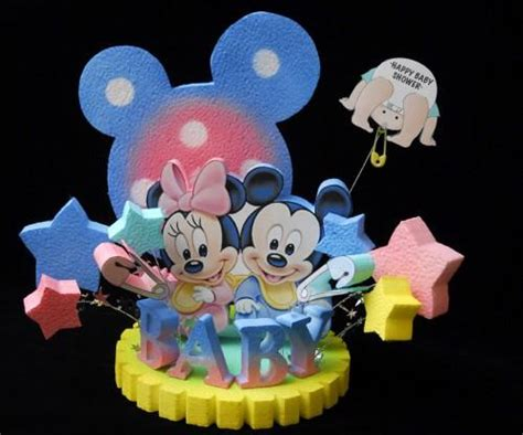 baby shower mickey  minnie mouse cake topper  adianezh  zibbet