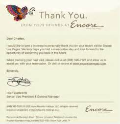encore thank you note vegastripping com