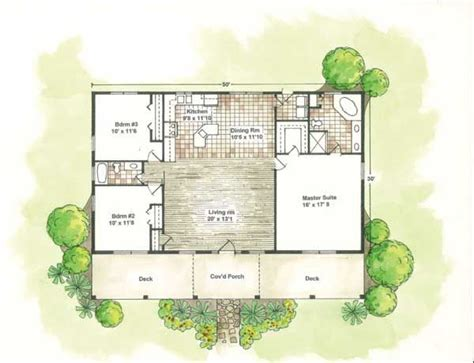 courtyard home designs small house plans with courtyards santa fe house plans designs home plans house plan