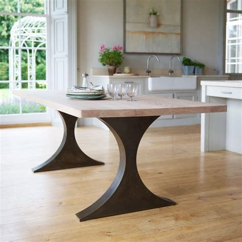metal legs for wood table 25 best ideas about dining table legs on diy