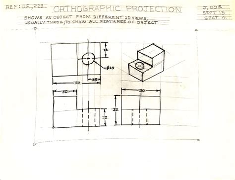 sketchbook copy selection unit 1 sketching orthographic drawings isometric