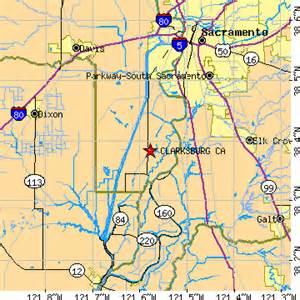 clarksburg california map clarksburg california ca population data races