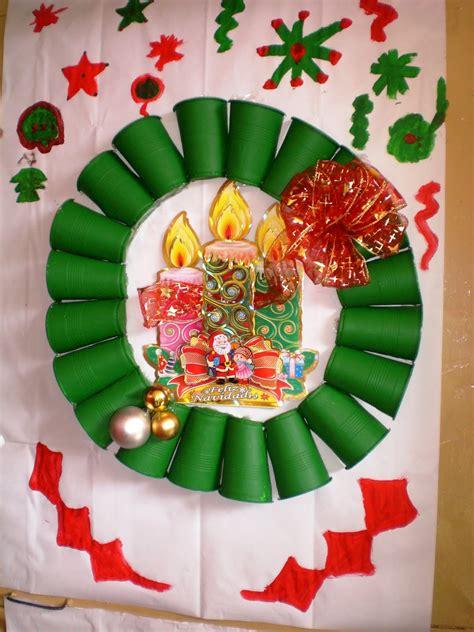 como decorar una cartelera escolar con material reciclable carteleras escolares navide 241 as imagui
