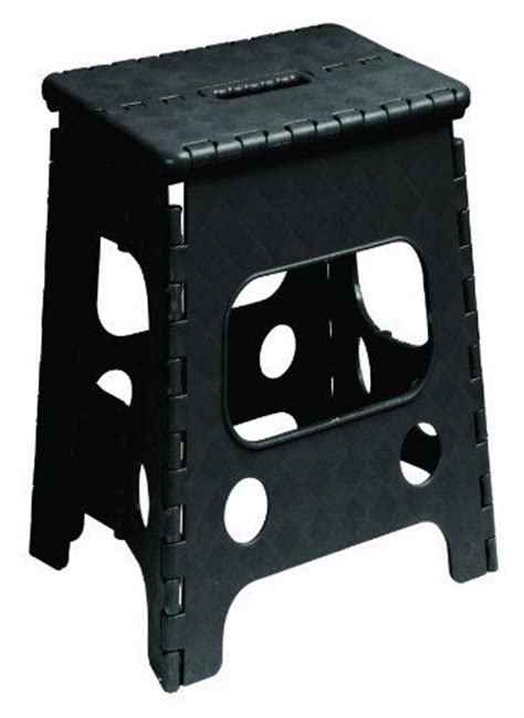 18 Folding Stool by Folding Step Stool 18 Inch Black Step Stools
