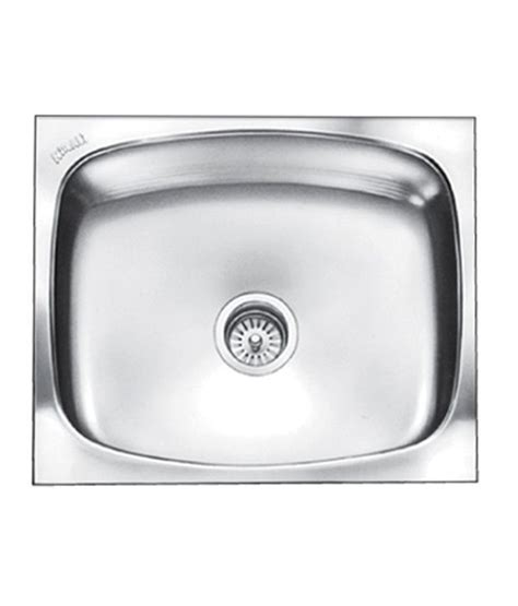 Nirali Kitchen Sinks Buy Nirali Kitchen Sink Single Bowl Glister Satin At Low Price In India Snapdeal