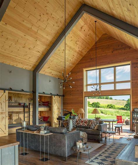 modern barn   family  vermont usa  ideas design