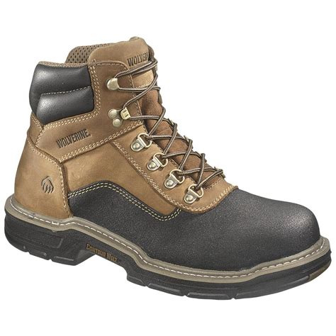 boots for mens work s wolverine 174 6 quot corsair waterproof composite toe eh