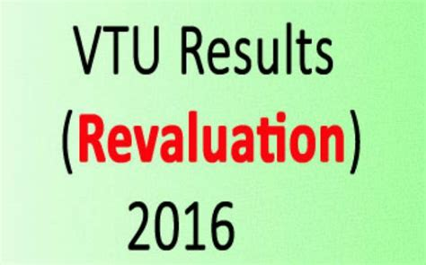 Vtu Mba Results 2016 17 by Vtu Barch Results 2016 Revaluation Declared Check Your