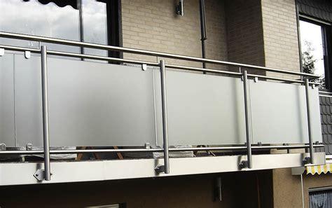 edelstahl relinggeländer edelstahlgel 228 nder mit glas balkongel nder balkon