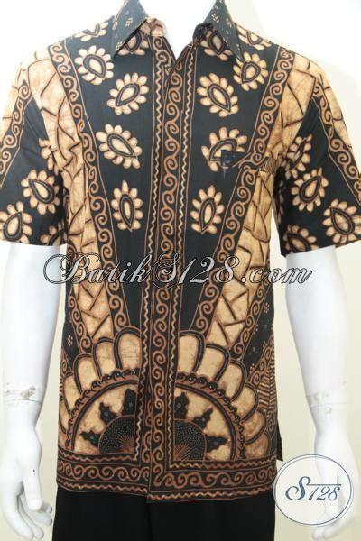 Hem Eksklusif baju hem batik pria dewasa elegan batik tulis eksklusif