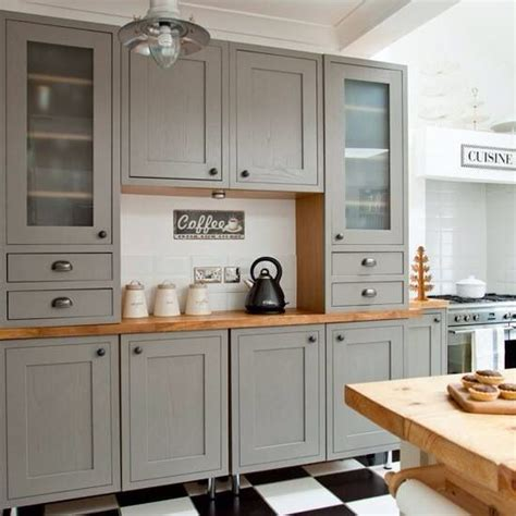 gray kitchen cabinets pinterest grey cabinet with butcher block counter kitchen best pinterest stove grey and cabinets