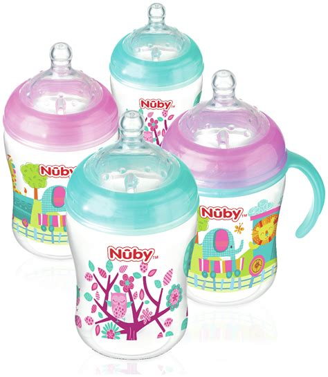 Kidsme Anti Colic Milk Bottle 270ml 160347 brand nuby uk