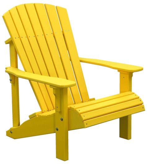 yellow adirondack chair home furniture design
