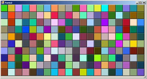 Random Color Pattern Generator | random color generator codeproject