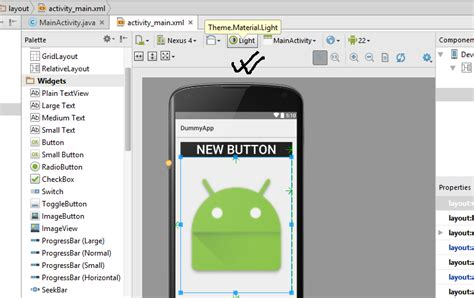 android studio layout drag and drop drag drop feature in android studio not working stack