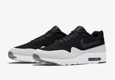 nike air max  ultra moire black white smoke sneaker bar