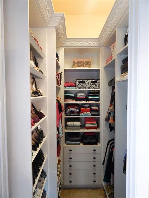 narrow walk in closet ideas home design