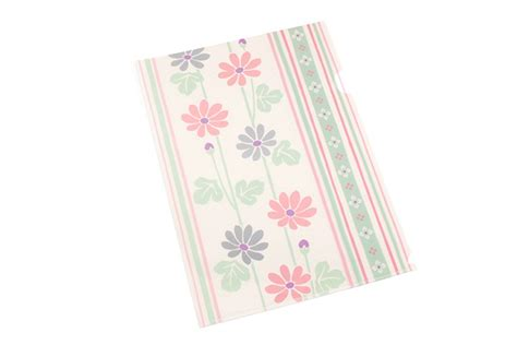japanese pattern folders kurochiku japanese pattern clear folder a4 kikka