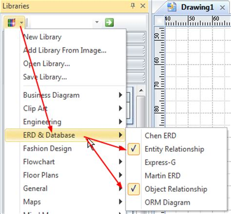 create erd how to draw a database model diagram simple tutorial
