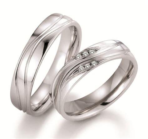 Ehering Selbst Polieren by Trauring Paar 750 Weissgold Poliert Diamanten 183 35n 137 138