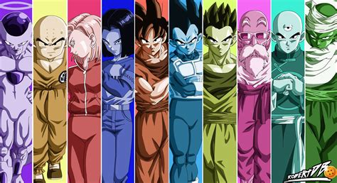 dragon ball universe wallpaper dragon ball super universe survival poster by robertdb on