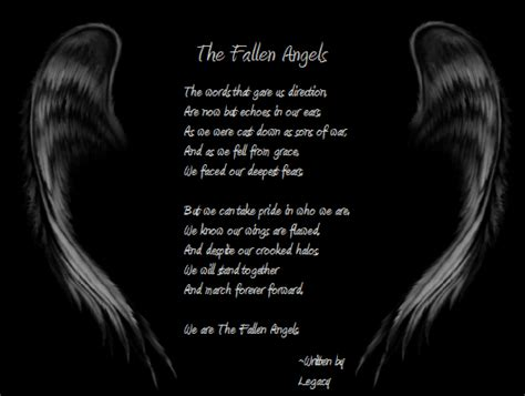 Fallen Angel Tattoo Quotes | quotes about fallen angels quotesgram