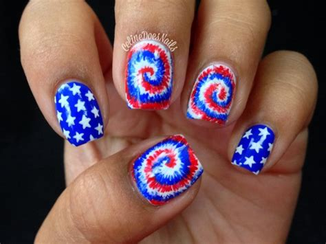 red acrylic 4th of july nils 25 fourth of july nails you just might want to try