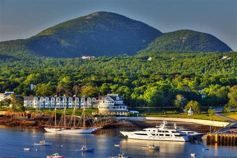 Harbor Bar by Bar Harbor Maine This Shows Part Of Bar Harbor Maine